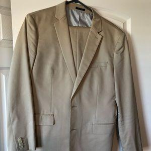 Light beige suit